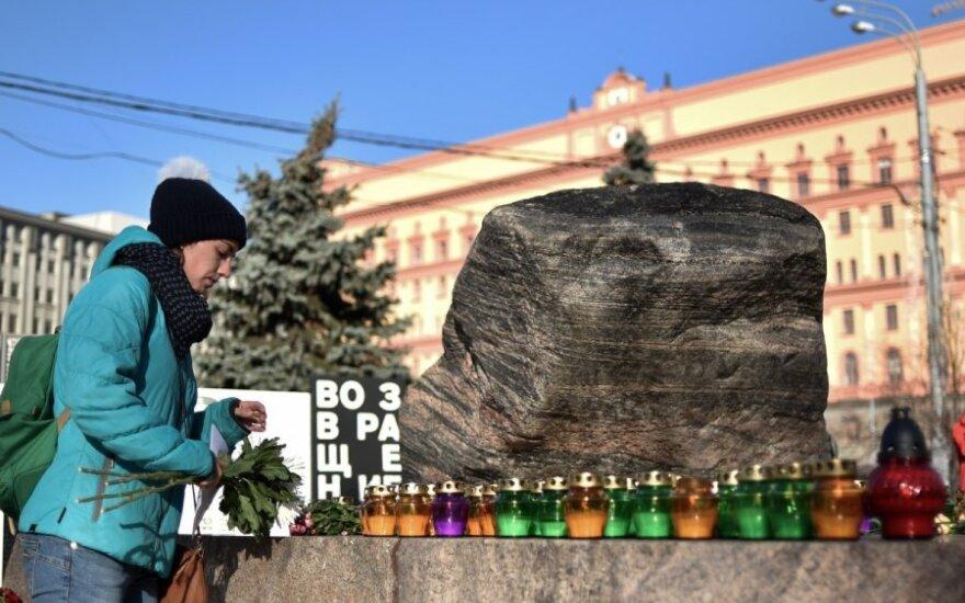 Maskvoje gedima Stalino laikų aukų