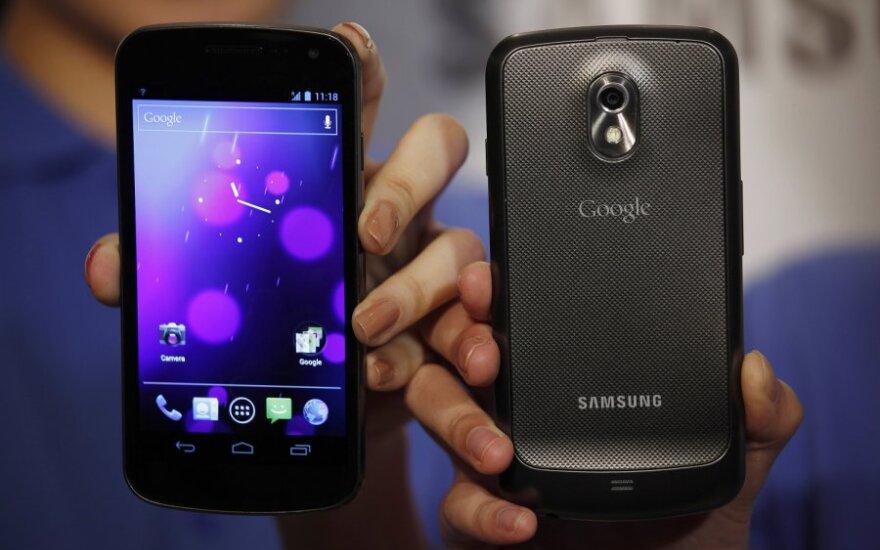 """""""Samsung Galaxy Nexus"""" išmanusis telefonas"""