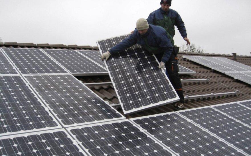 Coraz modniejsze elektrownie słoneczne na dachach