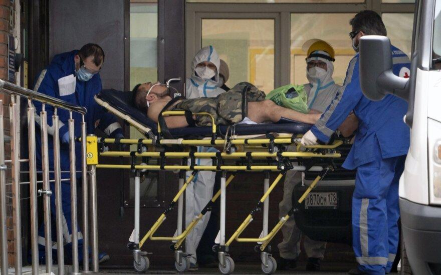 В России выявили 10 559 новых случаев коронавируса