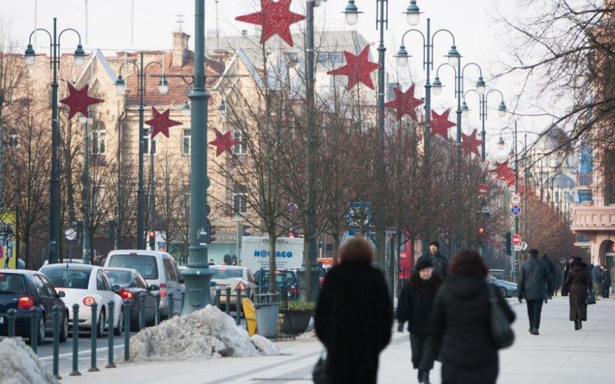 Вильнюсцы по зарплате опережают остальную Литву