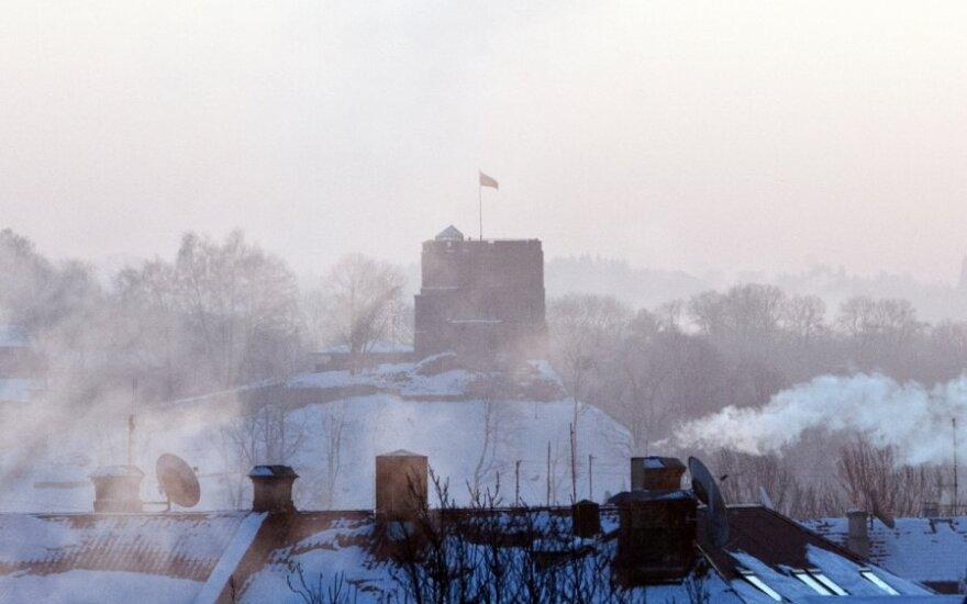 В Литве установится зимняя погода, а на дорогах – скользкие участки