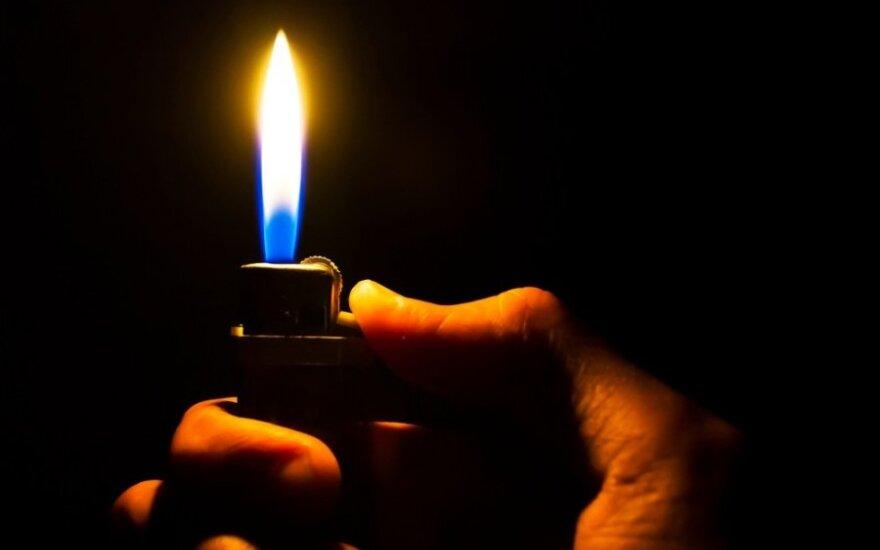 ВИДЕО: зажигалка стала причиной отмены матча Кубка Германии