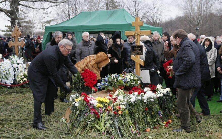 Бориса Немцова похоронили на Троекуровском кладбище Москвы