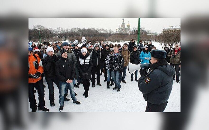 """В Санкт-Петербурге повторно запретили """"Снежную битву"""""""