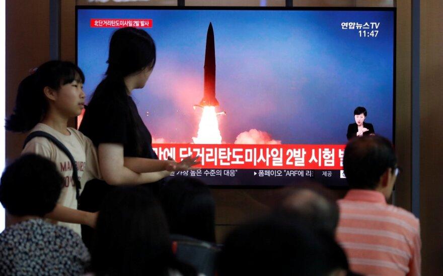 В Северной Корее снова провели ракетные испытания
