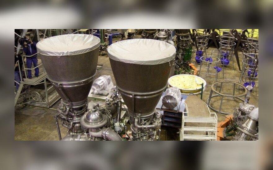 Pervimui į JAV ruošiami rusiški RD-180 raketų varikliai
