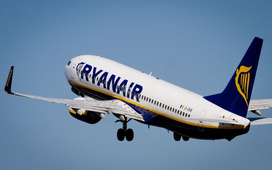 Ryanair свяжет Палангу с Лондоном