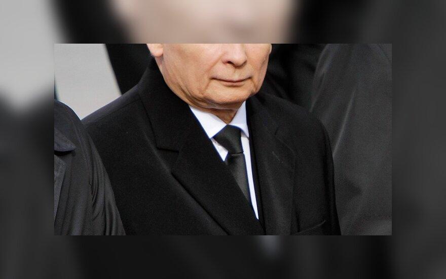 Качиньский бойкотировал траурный митинг в России