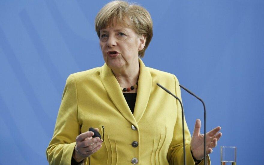 Меркель выступила в защиту немецкой разведки
