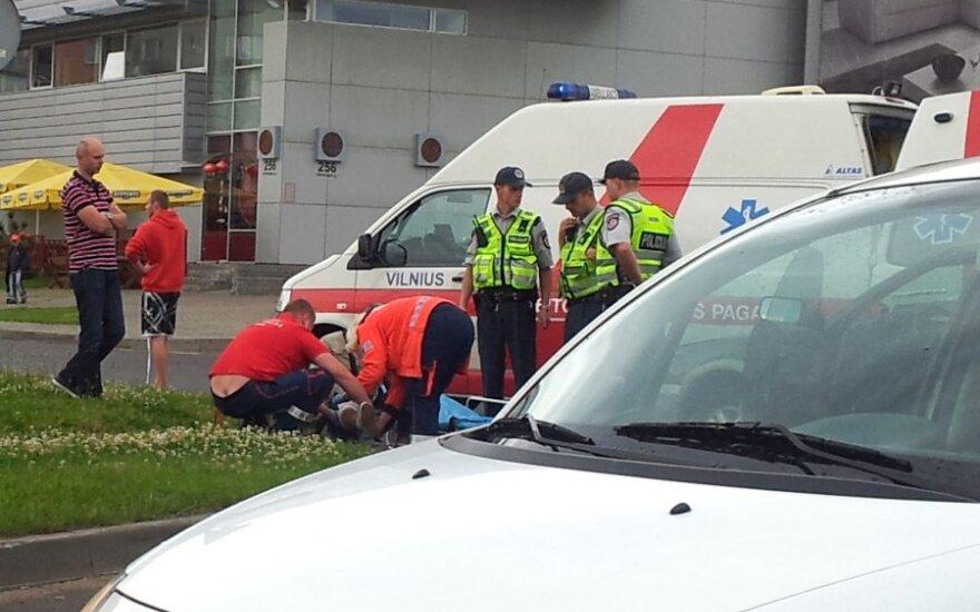 Водитель Subaru не пропустил мотороллер – пострадал мужчина