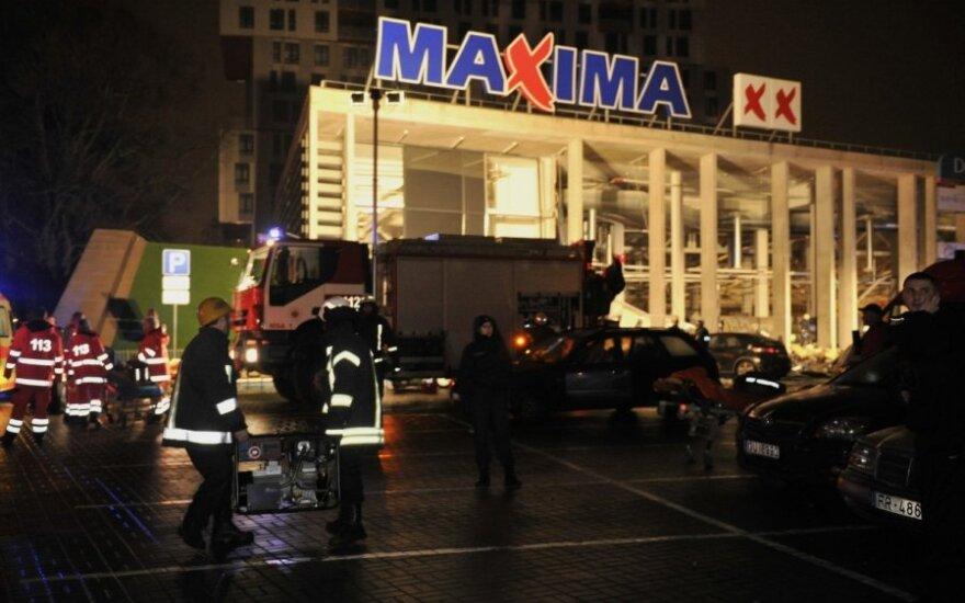 W Rydze zawaliła się Maxima