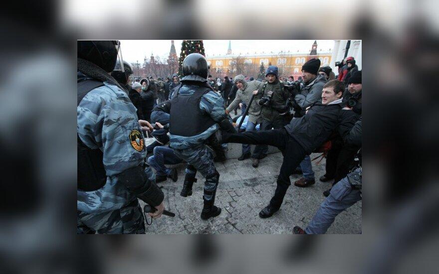 Susirėmimas Maskvoje