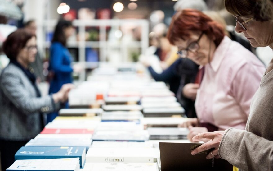 В Вильнюсе открылась Вильнюсская книжная ярмарка