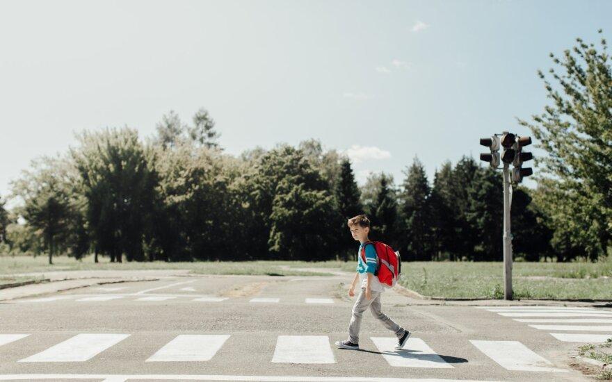 Vaikas kelyje