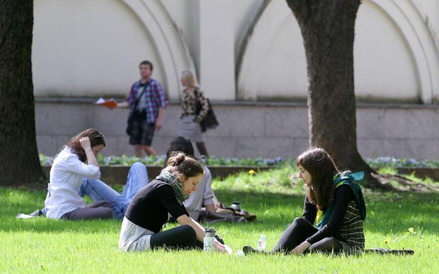 Исследование: В Вильнюсе студенту необходимо 700-800 литов в месяц