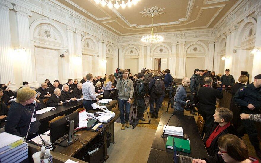 Cудья и прокурор по делу 13 января: в Россию не ездили и не поедем