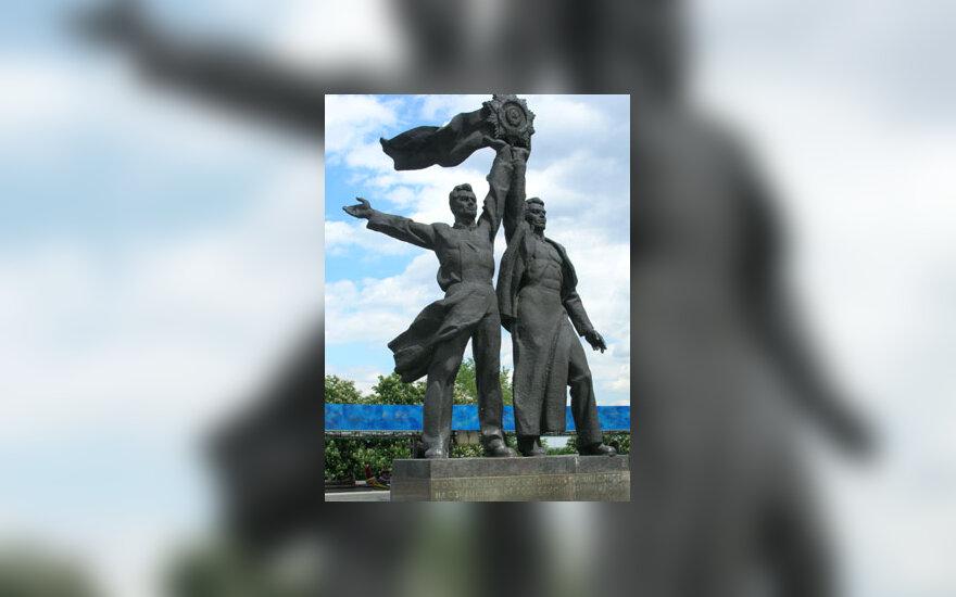 Sovietinė skulptūra Kijeve