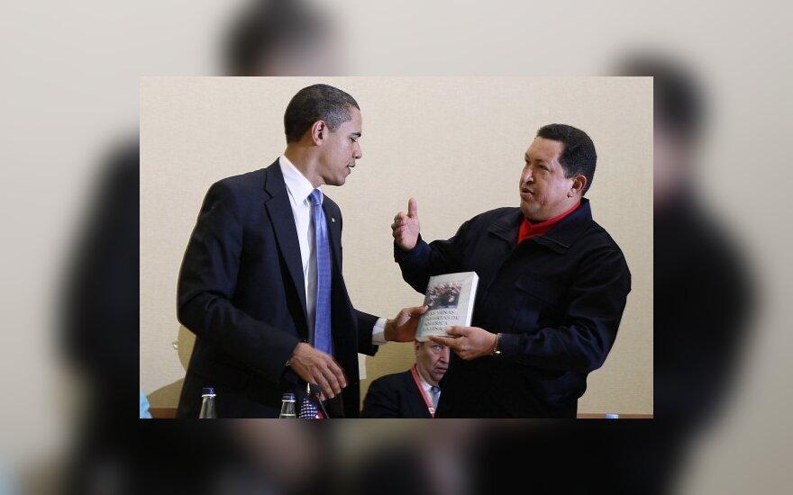 Чавес призвал Обаму строить социализм
