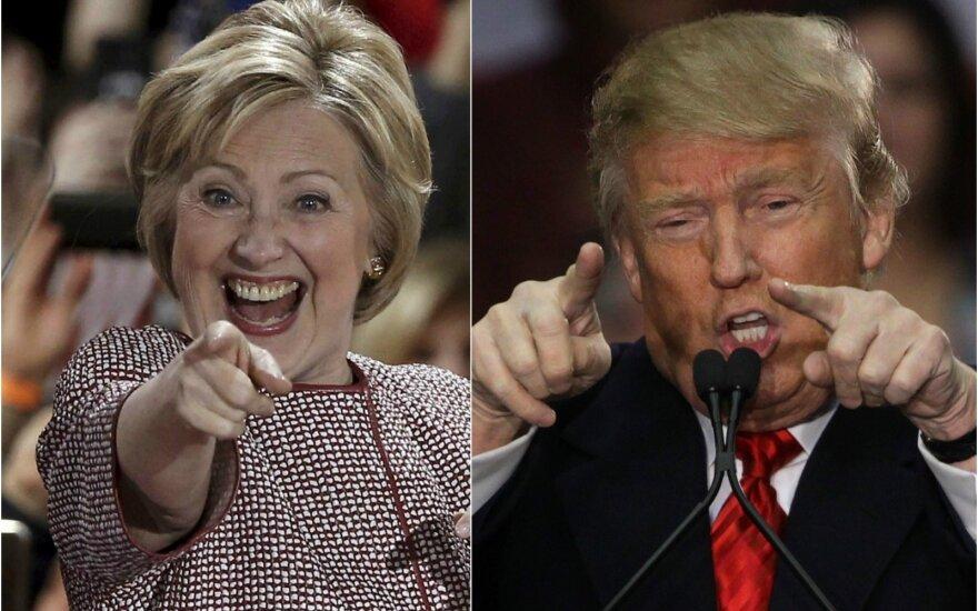 Клинтон опережает Трампа после дебатов и оскорбительных высказываний о женщинах