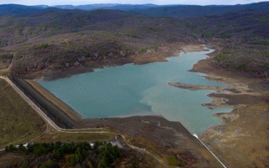 Sčiastlyvenskojos vandens rezervuaras Kryme