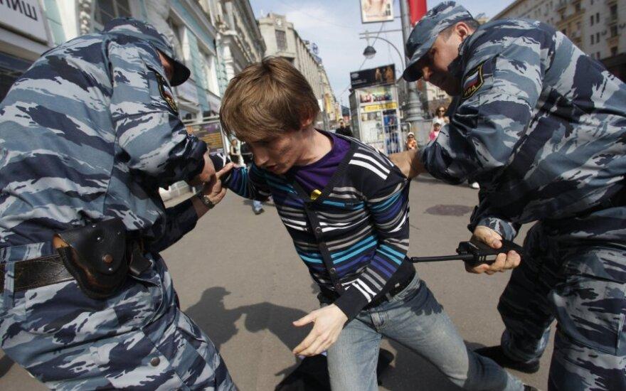 Задержание перед инаугурацией в Москве