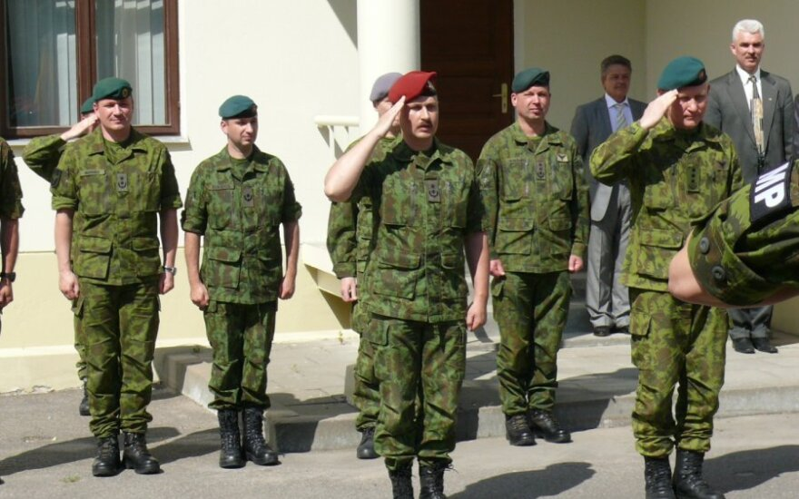 Karo policijos vadu paskirtas  pulkininkas leitenantas Gytis Kazokas
