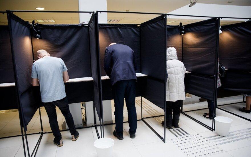 Пятница – последний день досрочного голосования во 2-м туре выборов президента Литвы