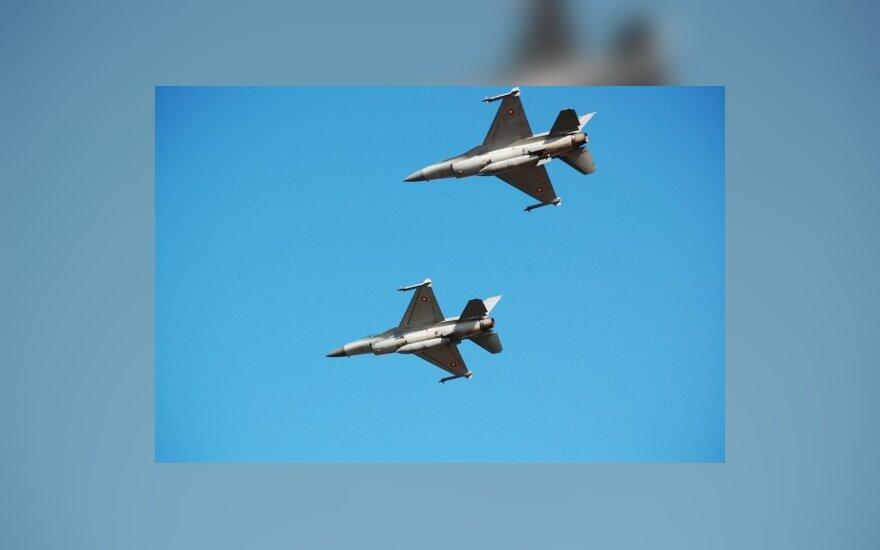 Истребители НАТО проведут учения над Эстонией и Литвой