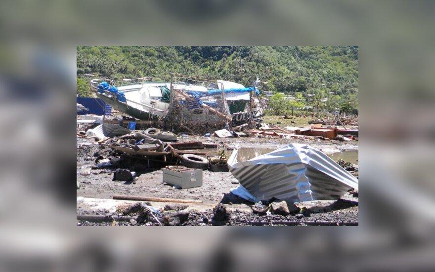 Цунами на Самоа: более 100 погибших