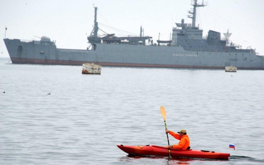 В Азовское море вошли два военных корабля РФ, еще один на подходе