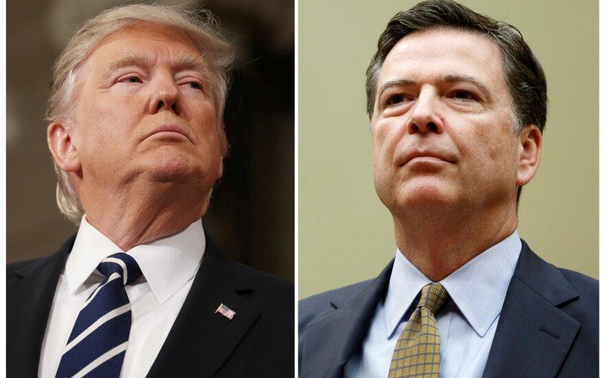 Экс-глава ФБР Коми признал ошибки в расследовании связей Трампа с РФ