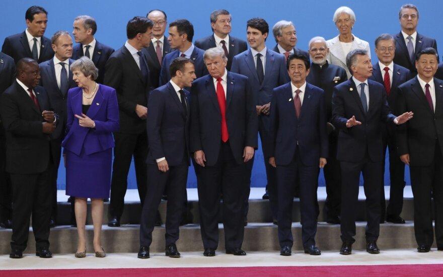 G20 susitikimas Argentinoje
