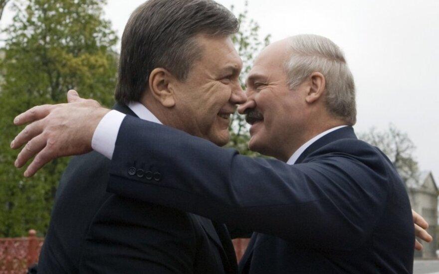 Лукашенко: заберите Януковича в Украину
