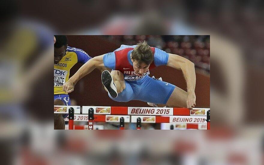 Барьерист Шубенков принес России первое золото на чемпионате мира