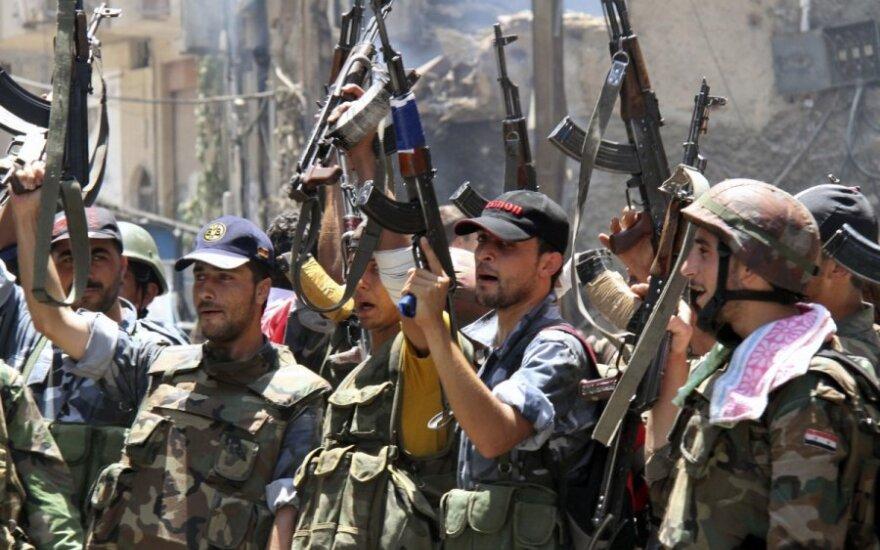Повстанцы в Сирии сражаются за город Ябруд