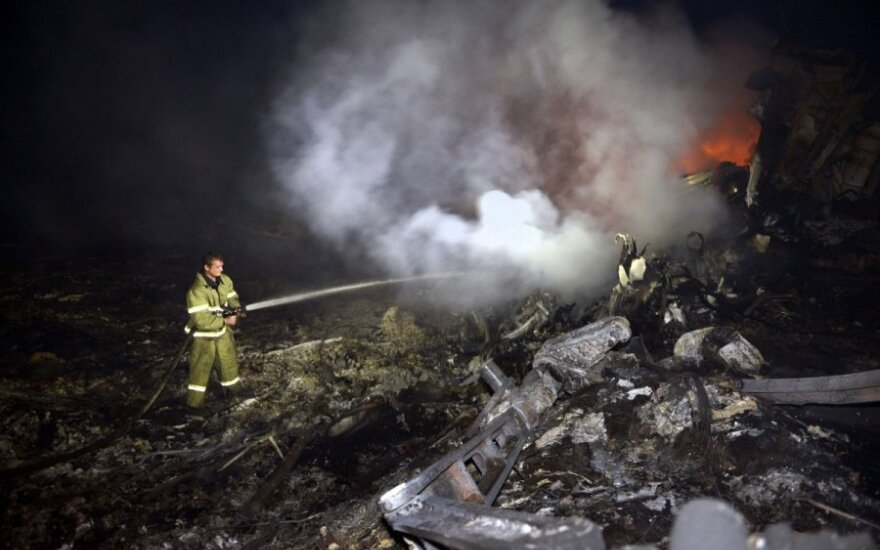 """Катастрофа Boeing над Украиной привела к """"войне обвинений"""""""