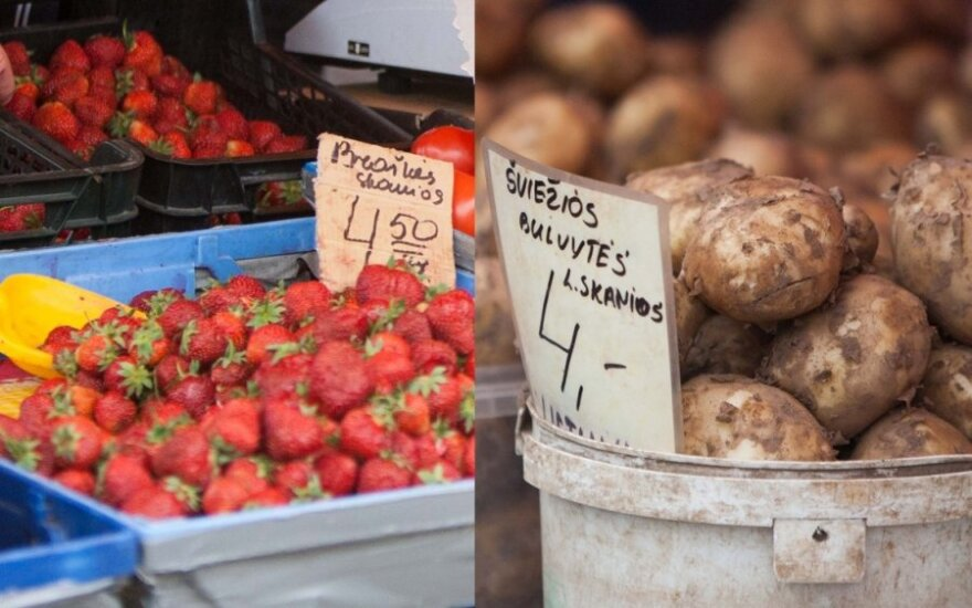 Świeże ziemniaki w cenie truskawek