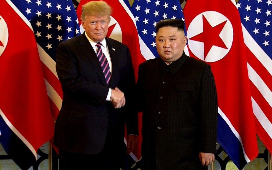 Donaldo Trumpo ir Kim Jong-uno susitikimas Hanojuje
