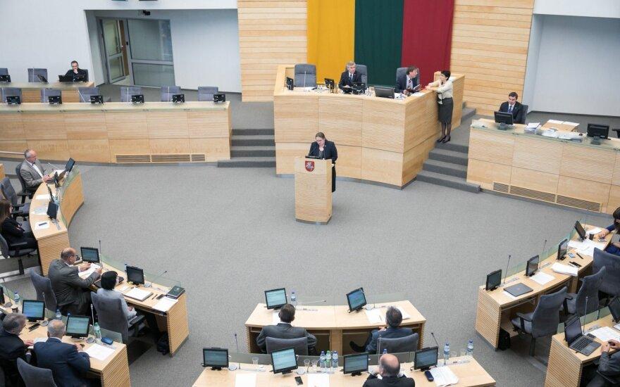 Сейм Литвы выполнил директиву ЕС, но прав партнерам не предоставил