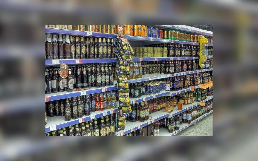 Алкогольные напитки - только в специализированных магазинах