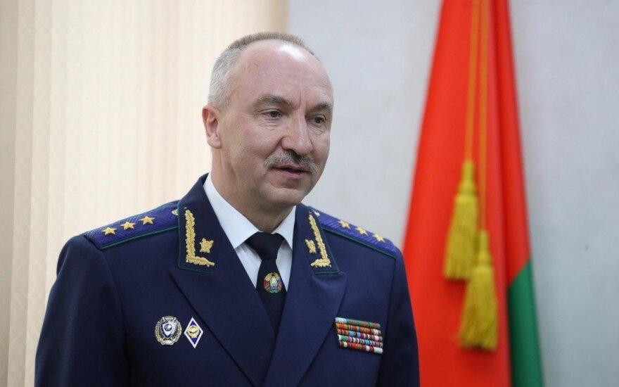 Генпрокурор Беларуси: создание и деятельность Координационного совета направлены на захват государственной власти