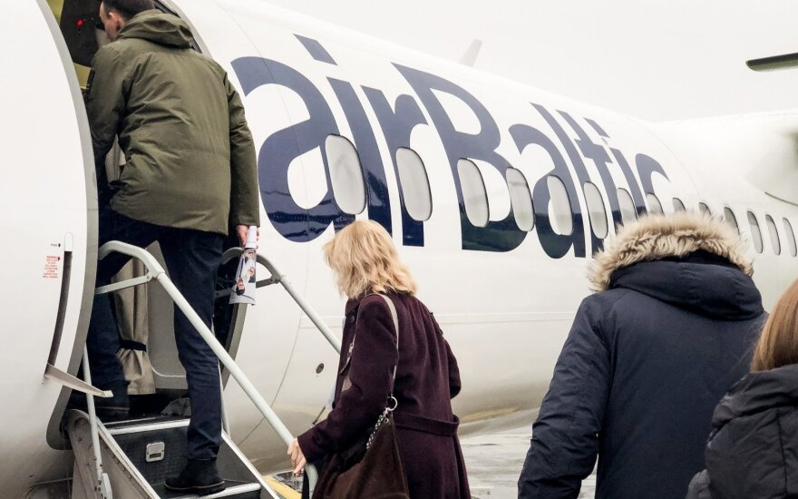Air Baltic возобновляет рейсы из Вильнюса в Лондон, Дублин и Дубровник