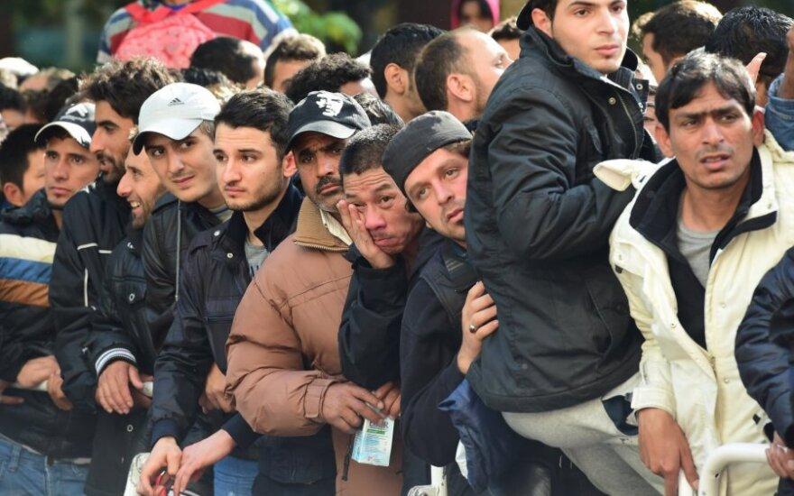 Принять беженцев согласны 12 самоуправлений Литвы