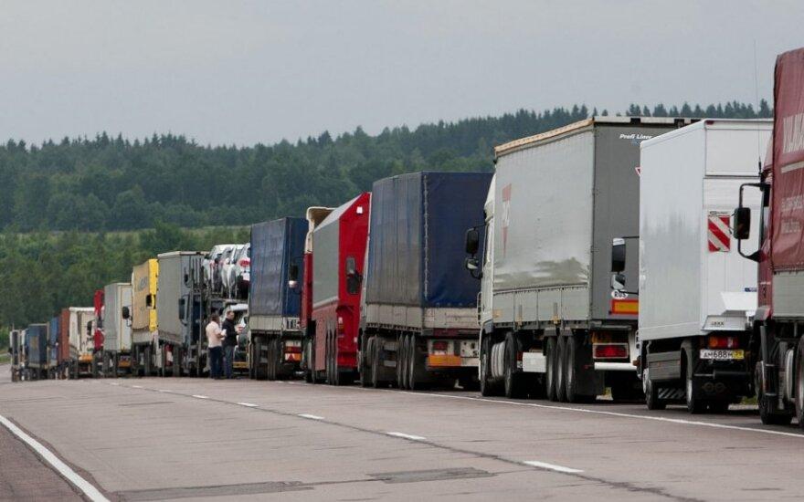 В очереди на въезд в Беларусь ожидает более 600 грузовых автомобилей