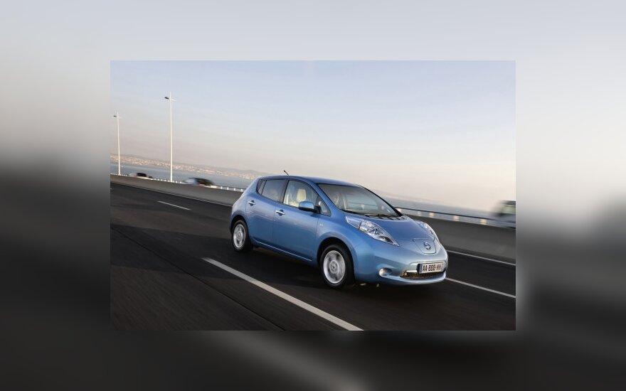 """""""Автомобиль года в США"""": Nissan, Chevrolet Volt и Hyundai"""