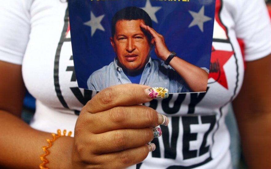 Hugo Chavezo atvaizdas