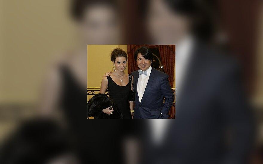 Валентин Юдашкин с дочерью Галиной. Фото: Дни.Ру