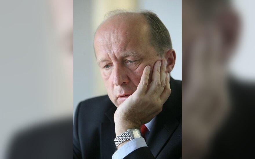 А.Кубилюс: с представителями МВФ кредит не обсуждался