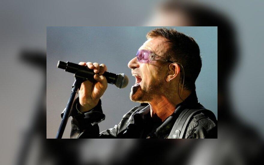 """U2 выступит на сцене """"Лужников"""""""